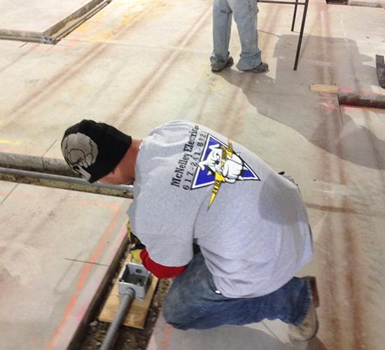 Floor Wire Installation 2
